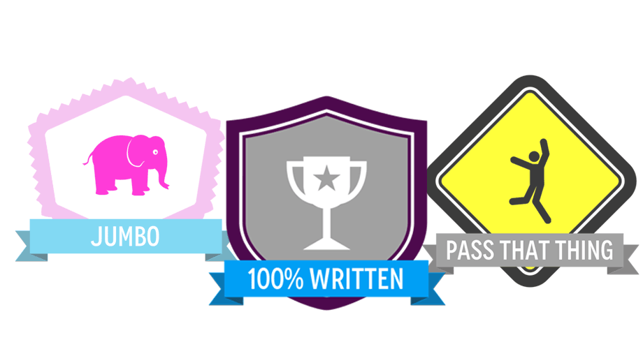 earn badges and achievements for preparing for the pce exam
